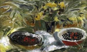 «Ягоды», холст, масло, 60х45, 1995 г.